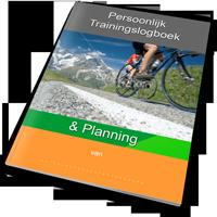 Persoonlijk trainings en planning logboek Bergop Fietsen.